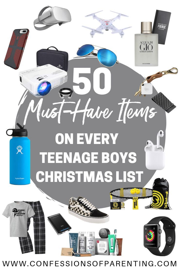 2a4edc2c0 Shopping for a teenage boy can be difficult! I have a teenage son and have.  Read it