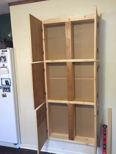 Image result for plans for between studs pantry