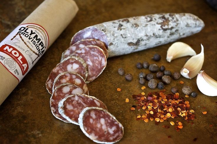 Charcuterie at Olympic Provisions