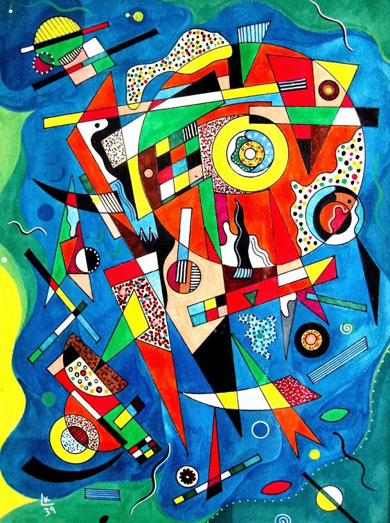by Wassily Kandinsky, 1939                                                                                                                                                                                 More