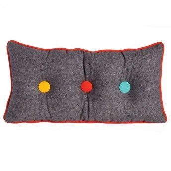 Cute as a Button Cushion