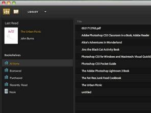 Transfer eBook to eReader | Adobe Digital Editions