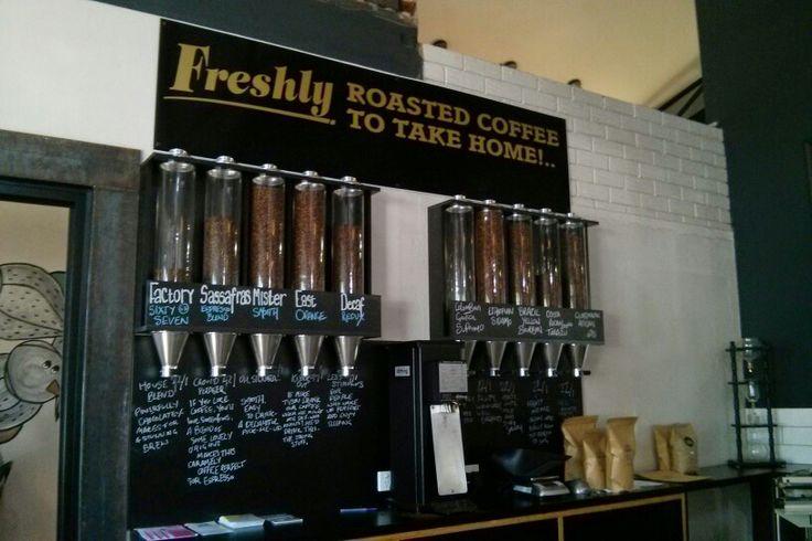 Factory Espresso in Orange