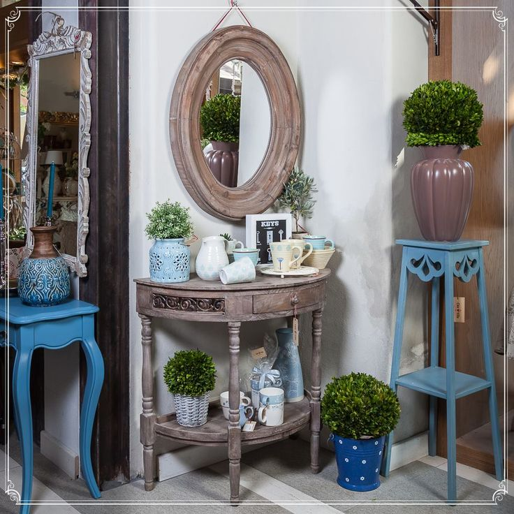 Shabby-Chic and SkyBlue furniture available! Combine Almost-Real greens with classic pieces and tie the past and future to each other! 💙💚