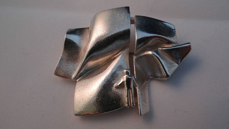 Lapponia finlande argent sterling 925S broche