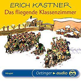 Das fliegende Klassenzimmer von Erich Kästner, gesprochen von Heinz Schimmelpfennig. Das Hörspiel ist ca. 50 Minuten lang - es gibt auch die ungekürzte Buchversion als Hörbuch.