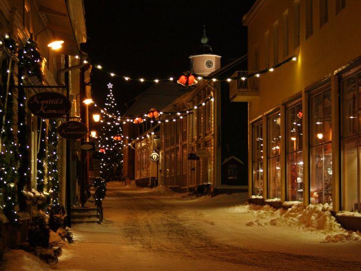 Porvoo, Finland - Christmas time.