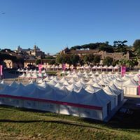 Kick Agency | b2b | Event management. Allestimento Race for the Cure 2017 @ Circo Massimo di Roma. Business Partner: Opera Allestimenti  #eventmanagement #allestimenti #events