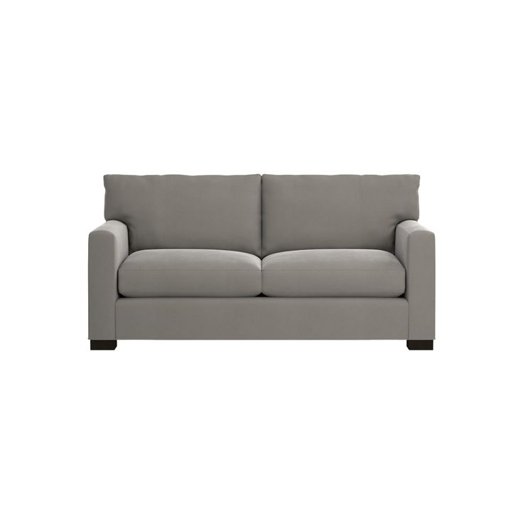 Shop Axis II Memory Foam Sofa.   The queen-size sleeper features a memory foam mattress, layered to provide comfort and support whether sitting or lying down.