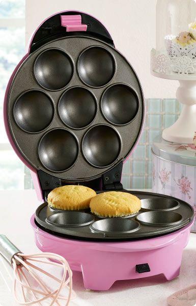 Cassi cupcake, pop cake and doughnut maker http://www.homechoice.co.za/Appliances/Baking-Speciality-Appliances/Cassi.aspx