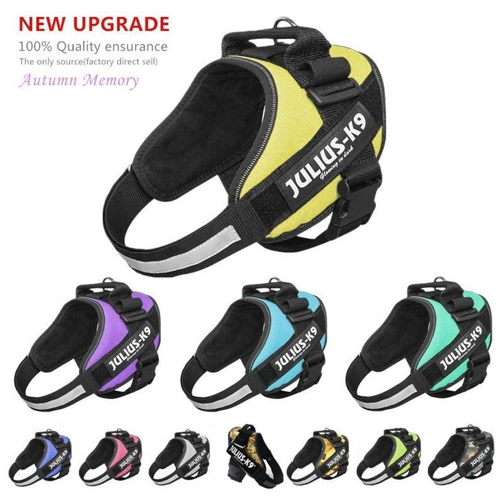 New Upgrade Best Quality Julius k9 Dog Harness Vest Glow Dog Collar Arneses Perros Honden Harnas Harnais Chien