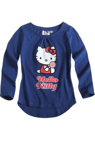 $11.50Girl's Kids Hello Kitty Official Longsleeve T Shirt Sz Age 2 8 Blue | eBay