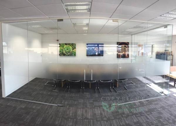 A sneak peak at our 10mm toughended frameless glass project in York! http://www.rodleyinteriors.co.uk/blog/2015/05/toughened-frameless-glass-walls-in-york/… #York #framelessglass