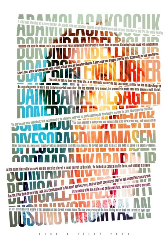 Graphic design #typography #poster