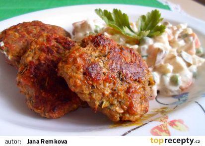 Karbanátky z mletého masa, kapusty a sýra recept - TopRecepty.cz