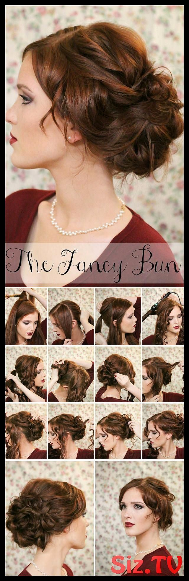 Top 25 Messy Hair Bun Tutorials Perfect For Those #Bun #hai #hair #high_messy_bun #Lazy