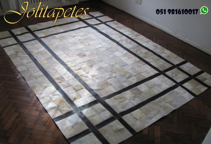 Tapete em couro! Escolha já o seu na Joli Tapetes! www.jolitapetes.com.br  whatsapp 051 98161-0017