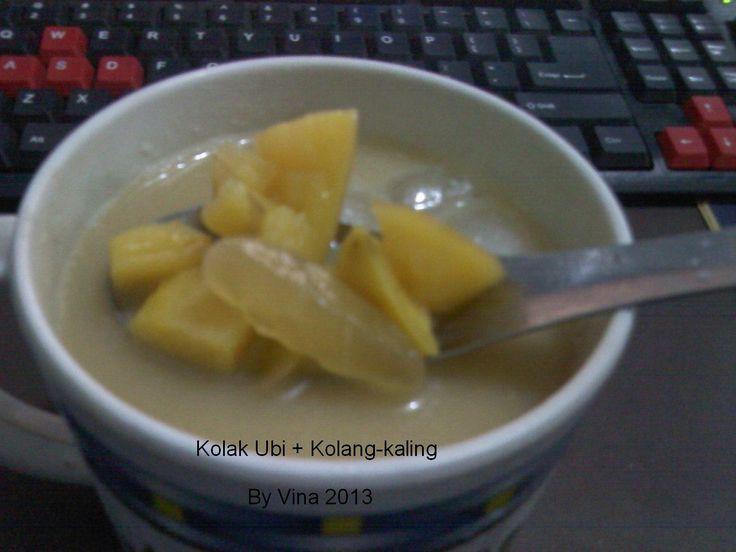 Kolak Ubi plus Kolang Kaling http://dapoervina.blogspot.com/2013/07/kolak-ubi.html