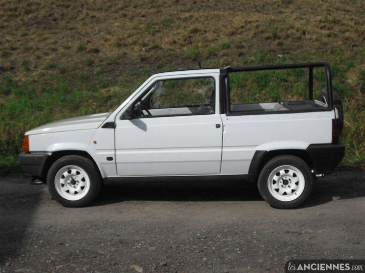 """FIAT PANDA  pick up """" Côte sauvage """" - Moteur FIRE 750 cc essence -1990"""
