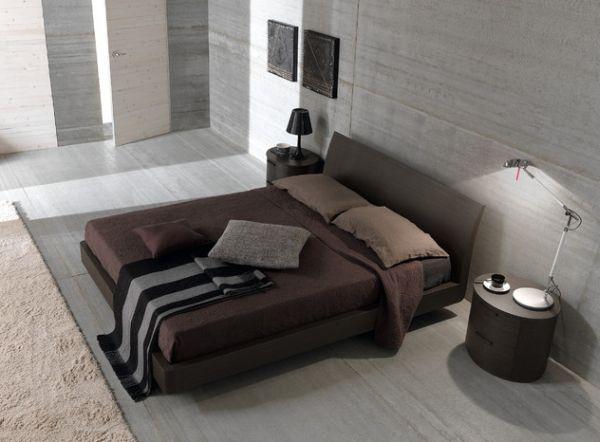 Leather Sectional Sofa  Stylish Bachelor Pad Bedroom Ideas