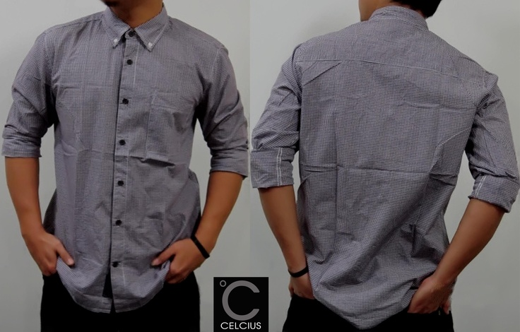 Imlek Collection !!    Celcius Shirt   Color : Green, Grey, Purple Size : S, M, L, XL