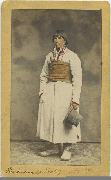 Gospodarz w sukmanie, kon. XIX wieku
