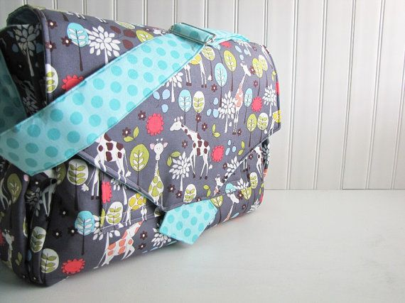 Hey, I found this really awesome Etsy listing at https://www.etsy.com/listing/96791294/large-custom-diaper-bag-with-many