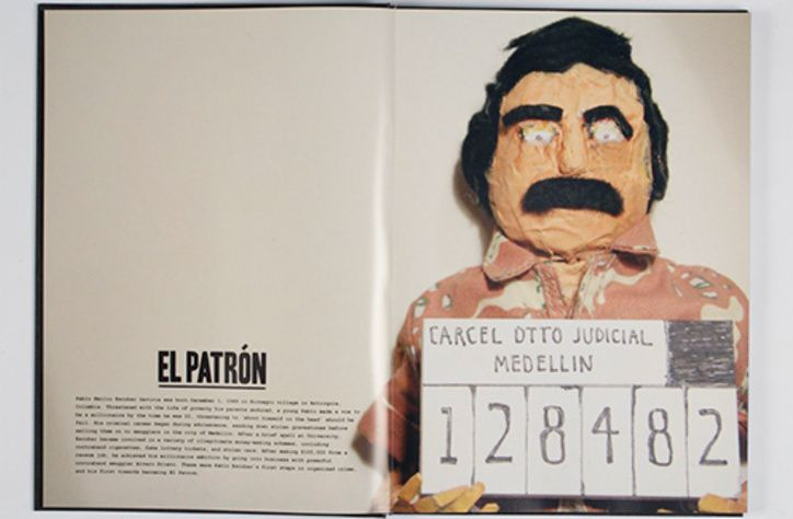 If you thought that Johnny Depp made for a charming drug lord playing George Jung in _Blow_, please allow yourself to be swept away by the papier mâché realness being brought to you directly from the very skilled hands of William Child. For his final project the freelance illustrator, animator and designer made a brilliant short film about the bloody work of Colombian drug lord Pablo Escobar, complete with hand-built sets, bags of powder stuffed into gutted fish, scuba divers and a jacuzzi…