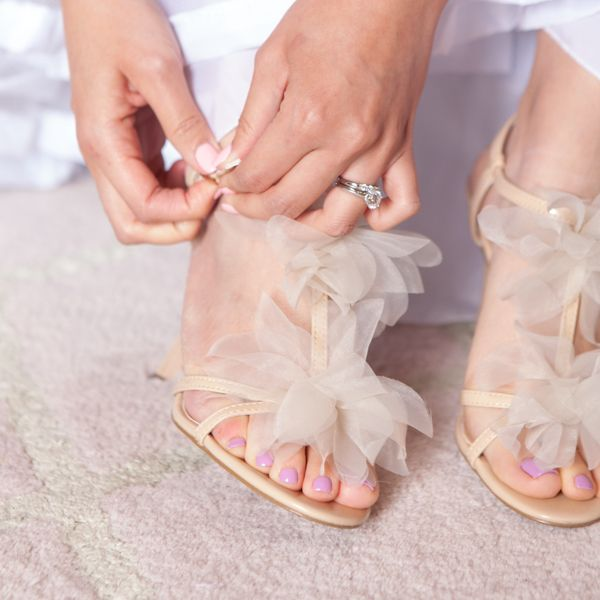 Ann Taylor Bridal Shoes. photo: www.eyecontact.ca