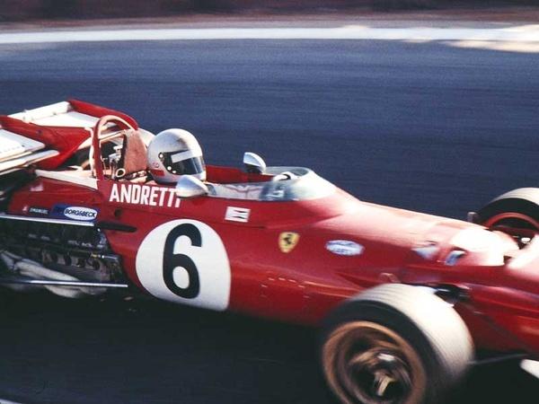 Mario Andretti. Sudáfrica 1971.