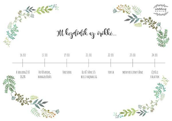 Esküvői termékek a Greenery láz jegyében! | Wedding Design Blog