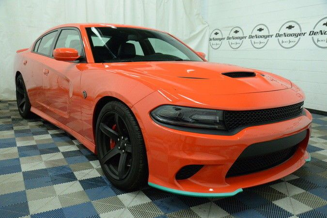 Go Mango Charger >> 2017 Dodge Charger Hellcat Go Mango Hellcat 6 2l Supercharged 8