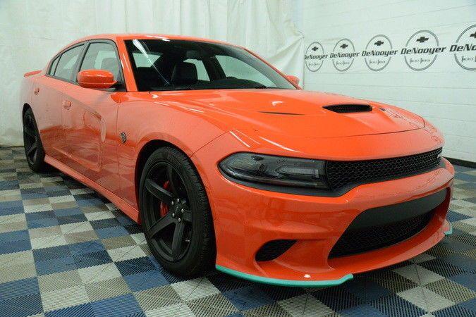 2017 Dodge Charger Hellcat Go Mango Hellcat 6 2l Supercharged 8