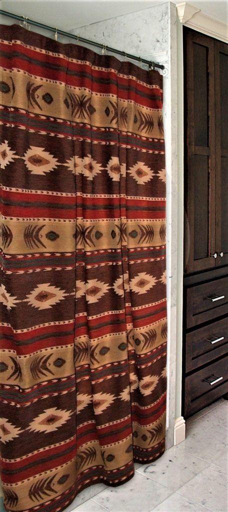 Desert Diamond Southwestern Shower Curtain