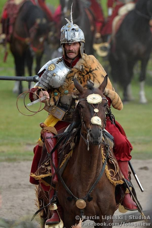 """mounted hussar """"sword"""" exercise; it is koncerz, a kind of rapier but longer and much more solid"""