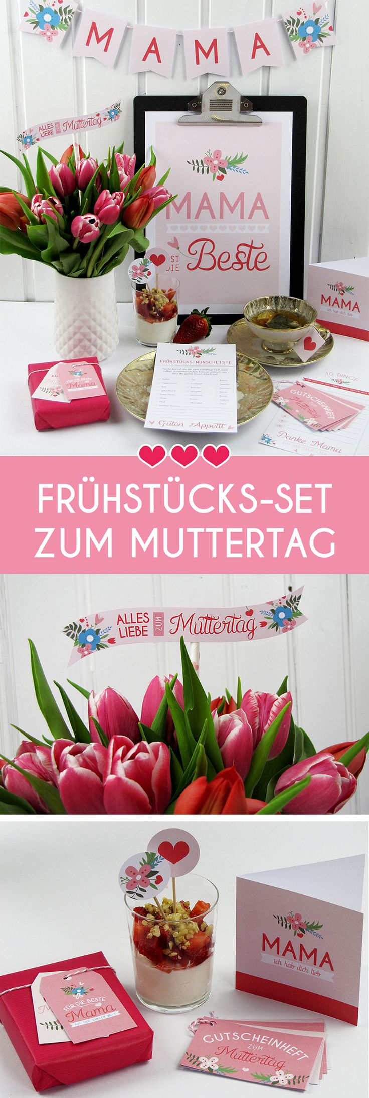 104 best geschenkideen zum muttertag images on pinterest - Muttertag pinterest ...