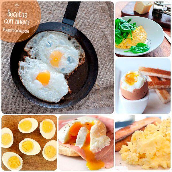 6 recetas con huevo básicas ¡aprende todos los trucos!