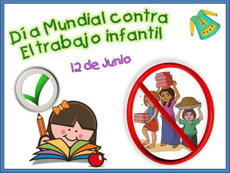 12 de Junio – Día Mundial contra el Trabajo Infantil http://www.yoespiritual.com/educacion-infantil/12-de-junio-dia-mundial-contra-el-trabajo-infantil.html