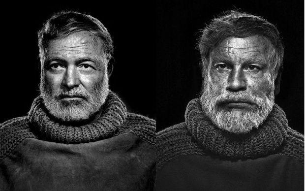 Yousuf Karsh: Ernest Hemingway