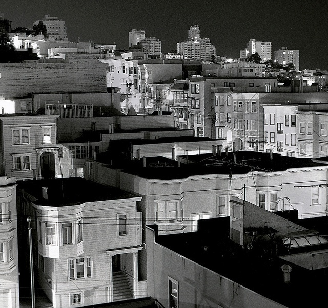 Russian Hill,             San Francisco by Dizzy Atmosphere, via Flickr