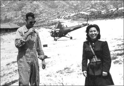 ▲ 1951. 7. 8. 정전회담을 위한 유엔군 측과 북측의 첫 만남.