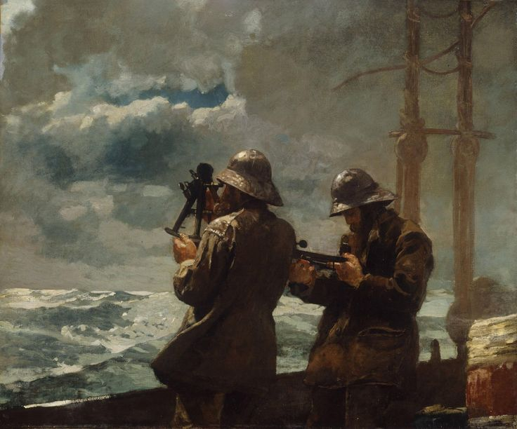 Winslow Homer - Eight Bells, 1886 [4596 x 3827]