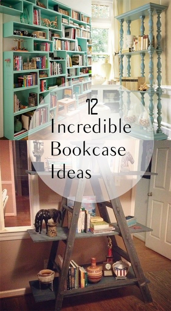 12 Incredible Bookcase Ideas (1)