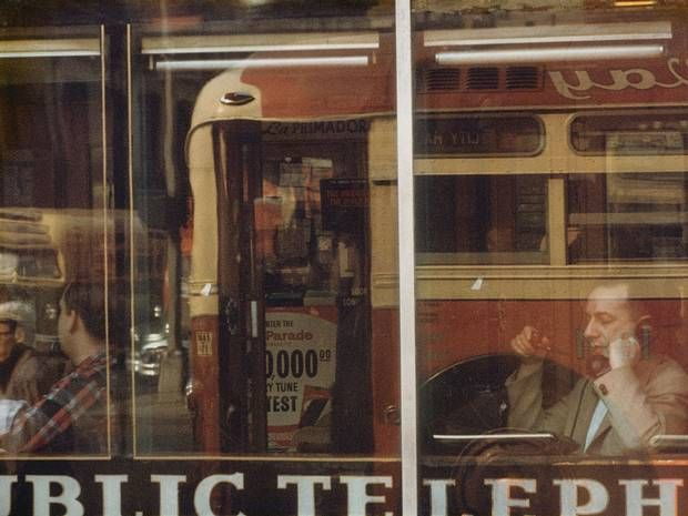By Saul Leiter. A master of colour photography
