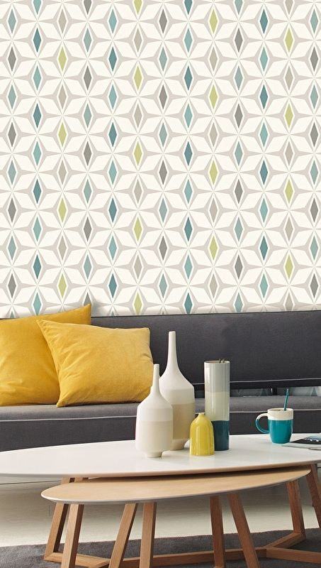 16 best Behang woonkamer images on Pinterest | Wallpaper patterns ...