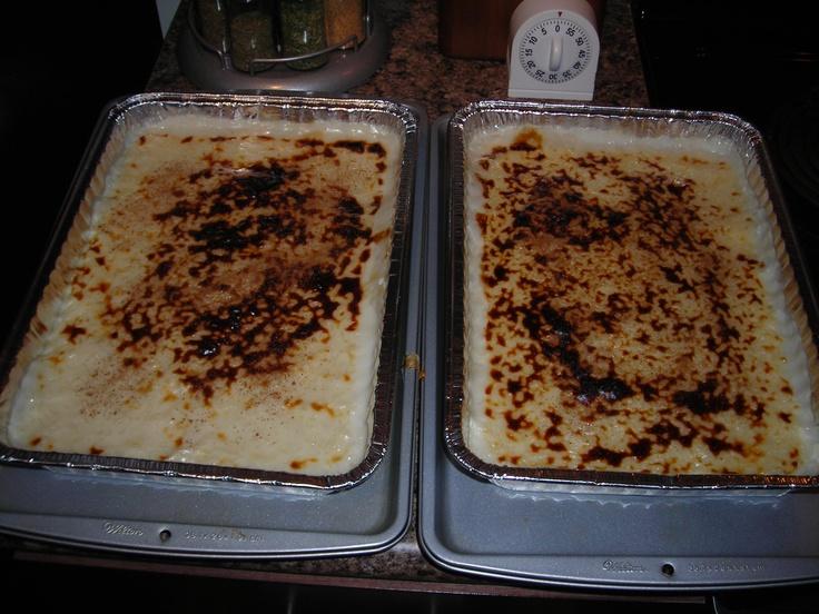 Sutlaç (Turkish Rice Pudding)