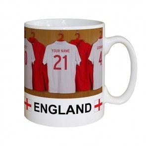 England Football Team Personalised Mug Christmas Gift