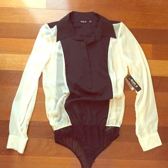 Bodysuit Style Blouse 4