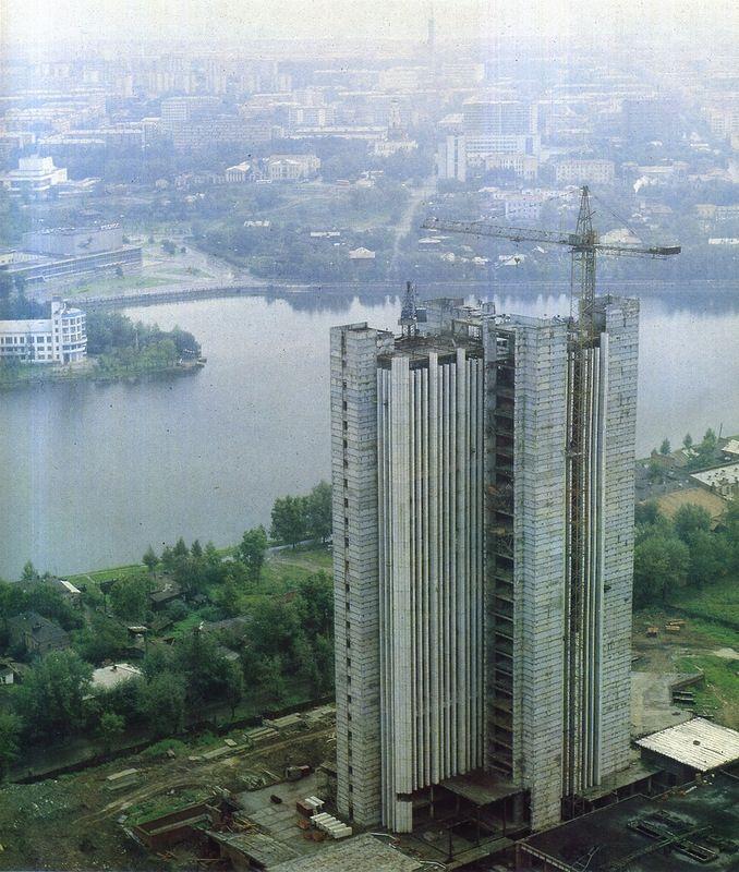 СОВМОД - Дом Советов (Здание областного правительства в Екатеринбурге)