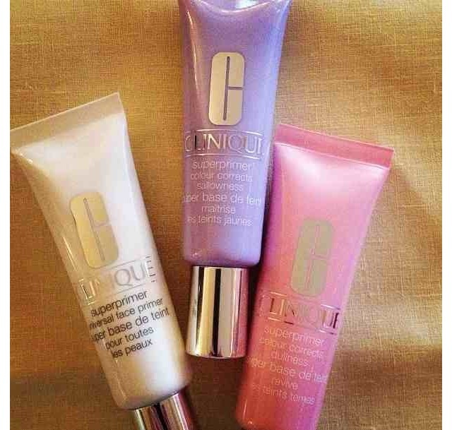 Clinique primers. WHY DON'T WE HAVE THESE